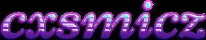 cxsmicz - Name Banner